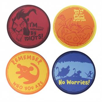 Coaster Set Of 4 - The Lion King (The Lion King)