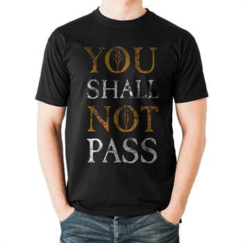 Lord Of The Rings You Shall Not Pass M T-Shirt