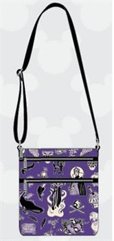 Loungefly: Disney Villian Icons AOP Nylon Passport