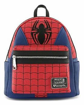 Loungefly: Spiderman AOP Square Nylon Backpack