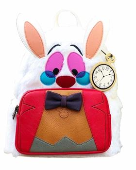 Loungefly: Alice/Wonderland White Rabbit Backpack