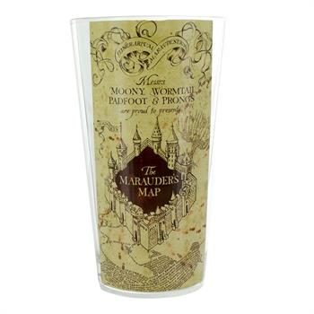 Marauders Map Water Glass