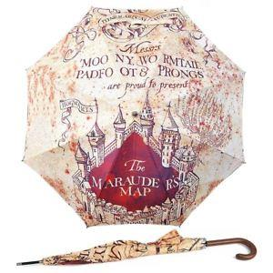 Harry Potter Maurauders Map Umbrella Stick