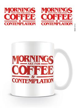 Stranger Things Coffee & Contemplation Mug