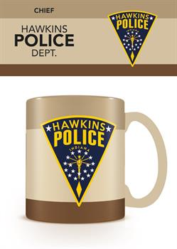 Stranger Things Hawkins Police Mug
