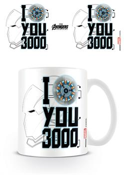 Avengers: Endgame (I Love You 3000) Mug