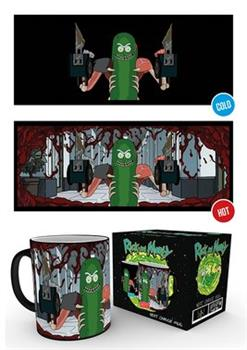 Pickle Rick Heat Changing Mug