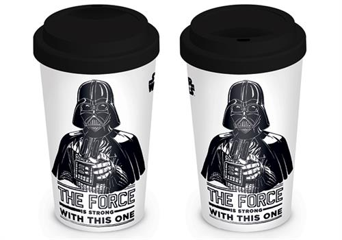 STAR WARS (THE FORCE IS STRONG) TRAVEL MUG