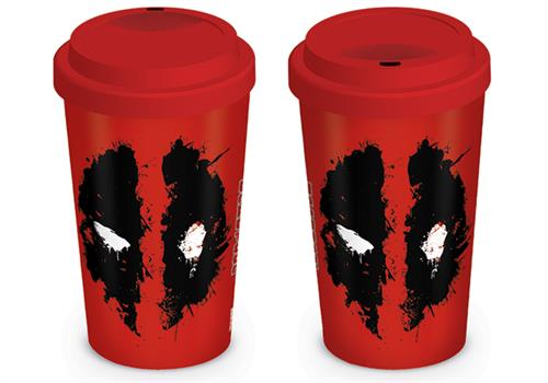 Deadpool Travel Mug (Splat)
