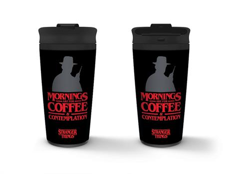 Stranger Things Coffee & Contemplation Travel Mug