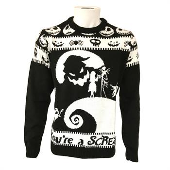 NBC You're a Scream Xmas Jumper - Large