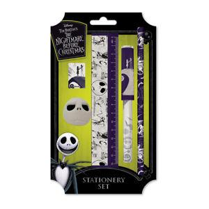 Nightmare Before Christmas Stationery Set