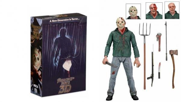 "Friday the 13th Part 3 - Jason 7"" Ultimate Figure"