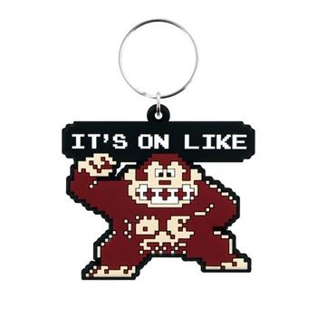 Donkey Kong (It's On Like) Rubber Keychain