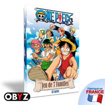 One Piece Jeu Happy Families Game