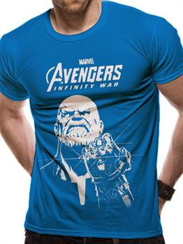 Avengers Infinity War Blue Thanos Large Tee