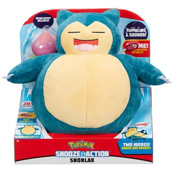 Pokemon Snooze Action Snorlax