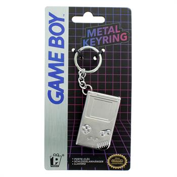 Gameboy 3D Metal Keyring