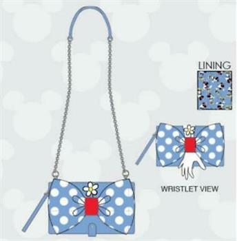 Loungefly: Positively Minnie Polka Dot Wristlet