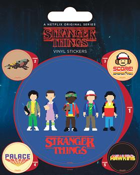 Stranger Things Arcade Stickers