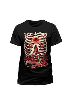 RICK AND MORTY ANATOMY PARK T-Shirt L
