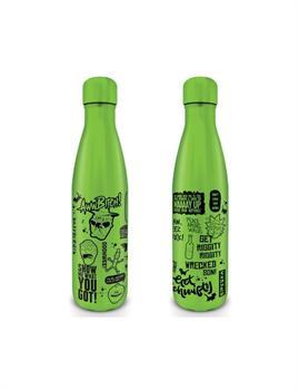 Rick And Morty (Quotes) Metal Drink Bottle