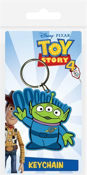 Alien Toy Story Rubber Keychain