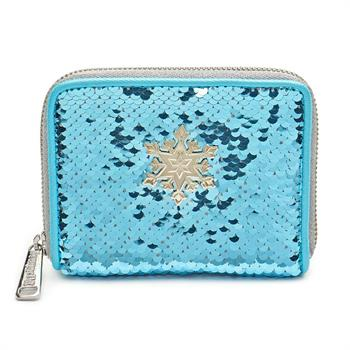 Loungefly: Frozen Elsa Reversible Sequin Wallet