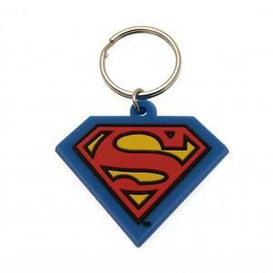 Superman Rubber Shield Keychain
