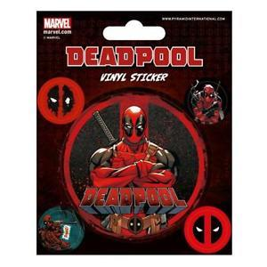 Deadpool Vinyl Stickers