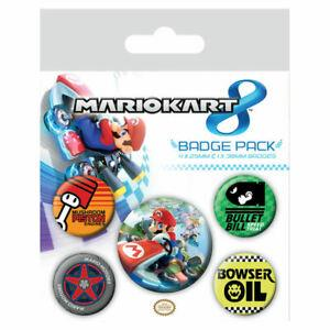 Mario Kart Badge Pack