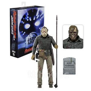 FRIDAY THE 13TH 7IN FIGURE ULTIMATE PART 6 JASON