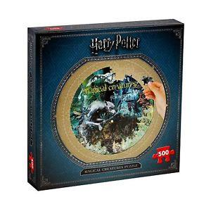 Harry Potter Collectors Round 500PC (Magical Creatures)
