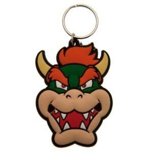 Bowser Rubber Keychain