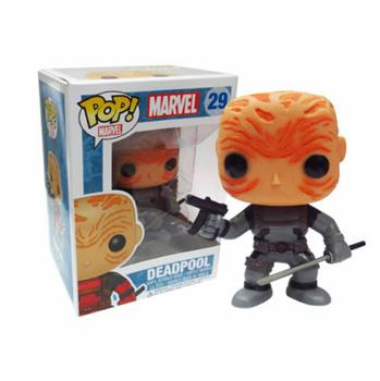 POP! Marvel: Deadpool (Unmasked Grey)