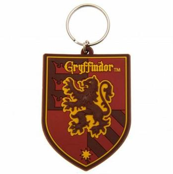 Harry Potter Rubber Keychain Gryffindor