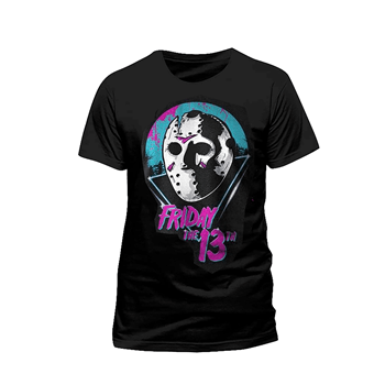 Friday The 13th 80's Mask T-Shirt L