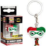 POP Keychains: DC - Harley Quinn (Holiday)