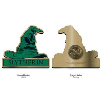 Harry Potter Pin Badge (Slytherin Sorting Hat)