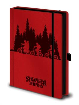 Stranger Things A5 Premium Notebook