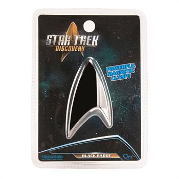 Star Trek Discovery Replica 1:1 Magnetic Black Badge
