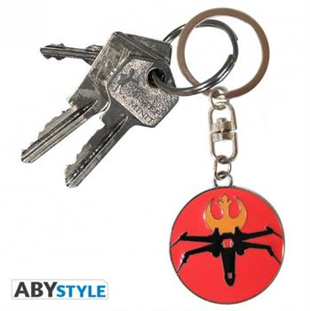 Star Wars X-Wing Metal Keychain
