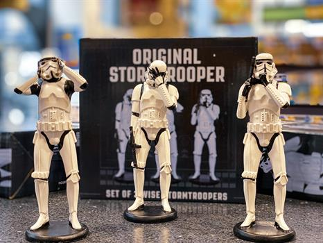 Three Wise Stormtroopers Figurines