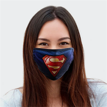Superman Logo Face Covering