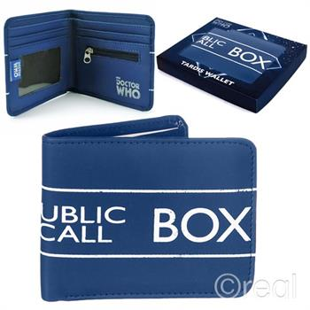 Wallet (Boxed) - Doctor Who (Tardis)
