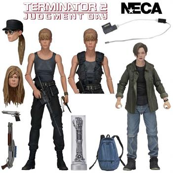 "7"" Terminator Sarah & John Connor 2-Pack"
