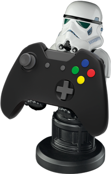 Cable Guy Phone & Controller Holder - Stormtrooper