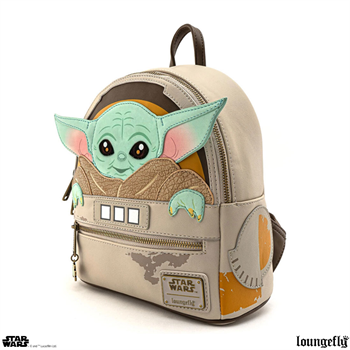 Loungefly: SW Mandalorian The Child Mini Backpack