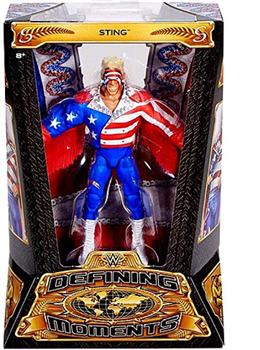 WWE Defining Moments Sting (USA) Action Figure