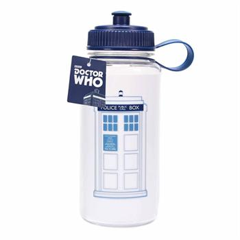 Water Bottle (Plastic) - Dr Who (Tardis)